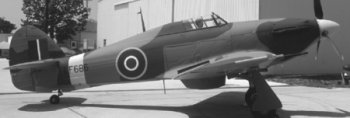 Nice example of an RAF Hurricane.